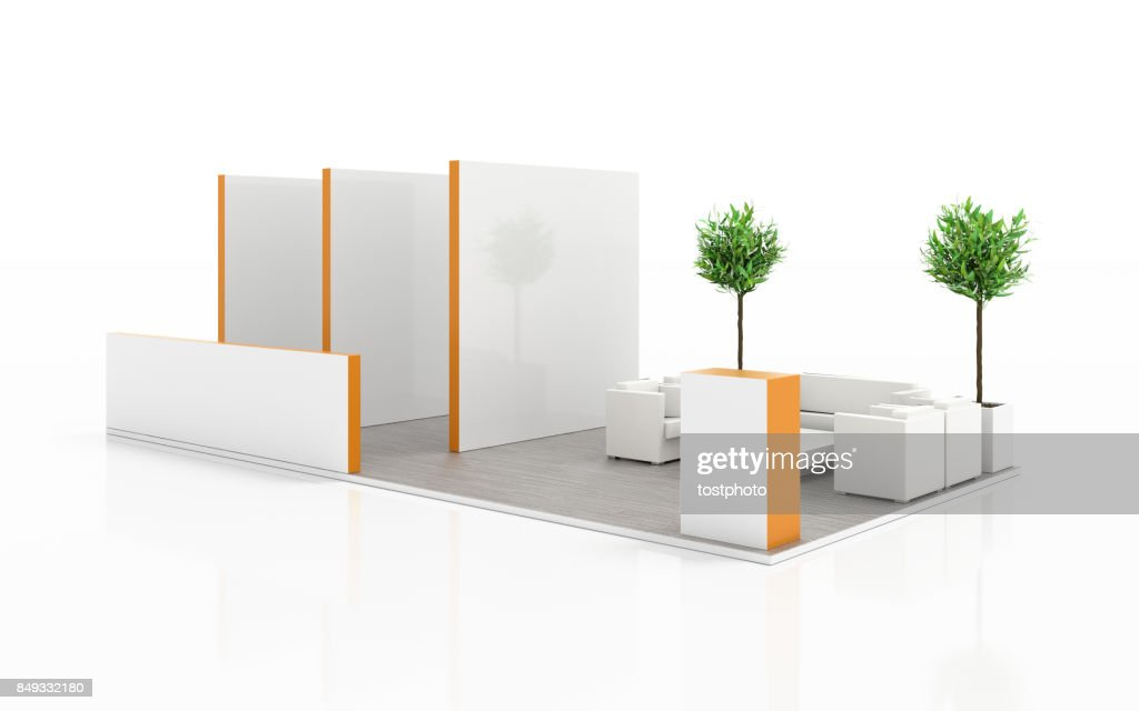 Exhibition Booth Blank : Blank expo kiosk vector photo free trial bigstock