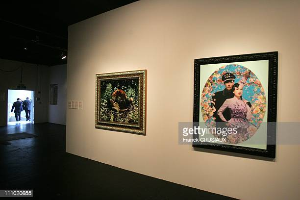 Exhibition Collection Passage du Temps by Francois Pinault Foundation at the Tri Postal from October 16th 2007 to January 1st 2008 in Lille France on...
