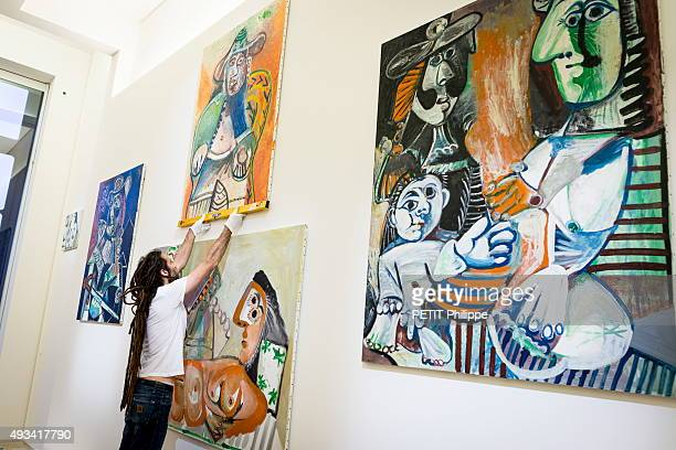 Exhibition for the 30 years of the museum Picasso at the Hotel de Sale in Paris on October 01 2015