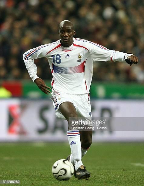 Exhibition game France vs Slovakia Slovakia won 21 Mahamadou Diarra