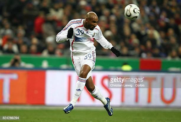 Exhibition game France vs Slovakia Slovakia won 21 Nicolas Anelka