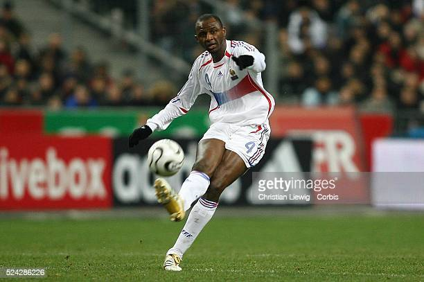 Exhibition game France vs Slovakia Slovakia won 21 Patrick Vieira