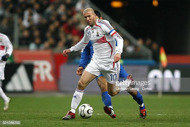 Exhibition game France vs Slovakia Slovakia won 21Zinedine Zidane