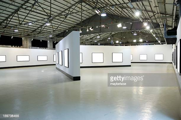 exhibition hall - art gallery stock pictures, royalty-free photos & images