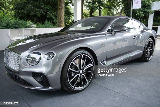 Exhibition of Bentley New Continental GT during the Turin Motor Show 2018