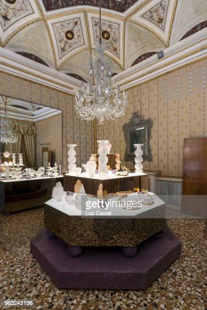 Exhibition of Ira Von Furstenber 'Objets Uniques' Collection at Museo Correr on May 25 2018 in Venice Italy