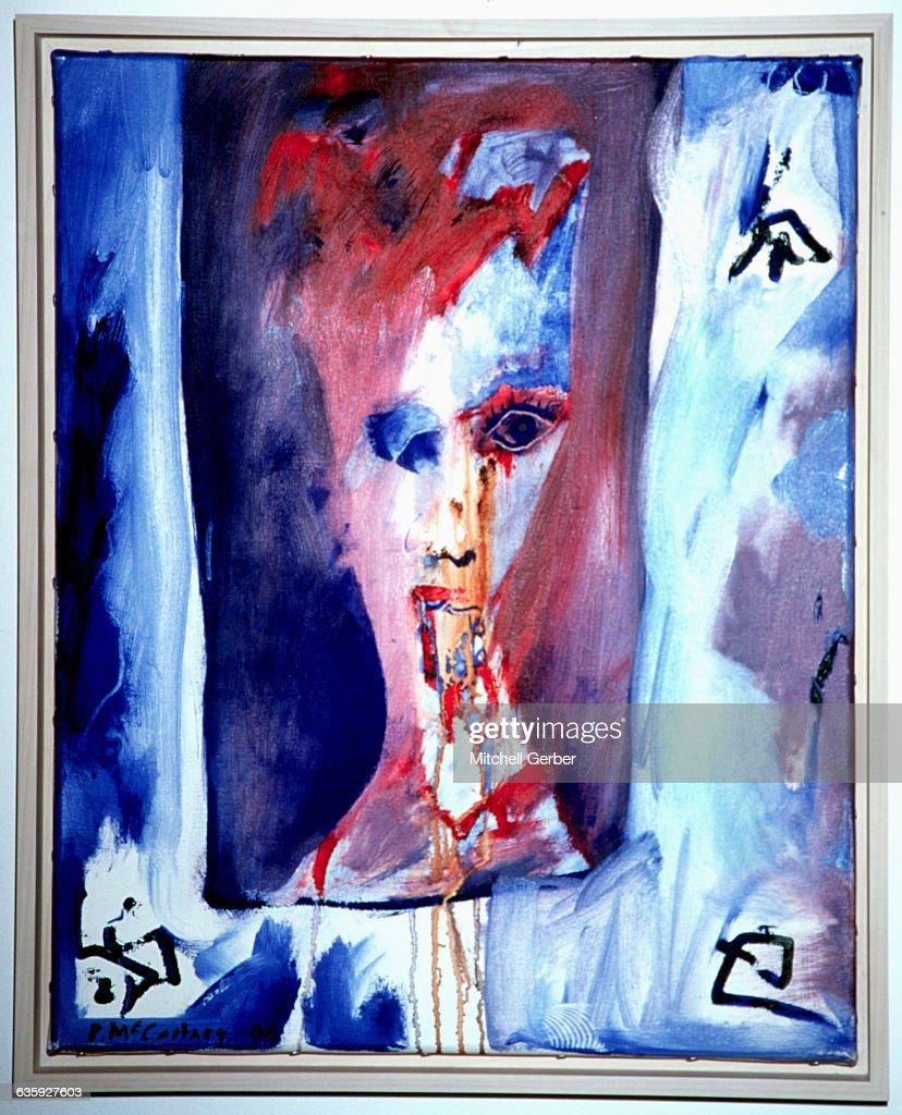 Paul McCartney Painting : News Photo