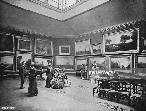 Exhibition of William Turner's paintings in the National Gallery London circa 1903 William Turner was an English landscape painter not to be confused...