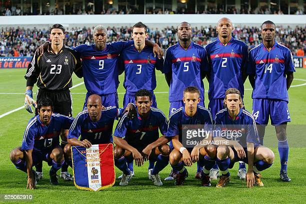 France vs Hungary French team lineup before the game