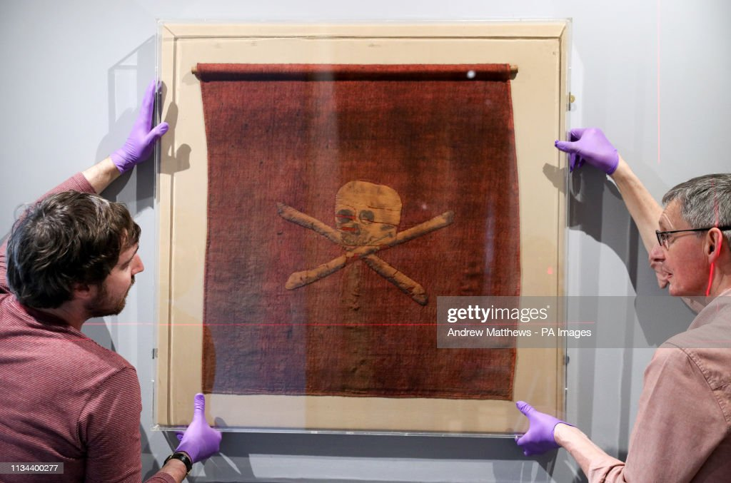 Jolly Roger exhibition : News Photo