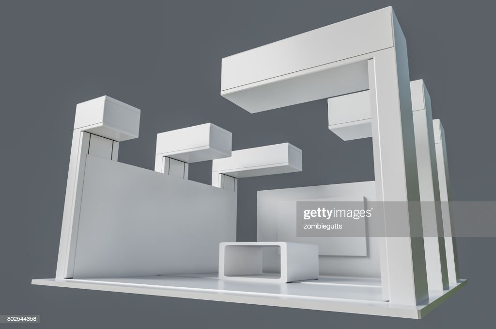 Exhibition Stand Template : Exhibition stand template stock photo getty images