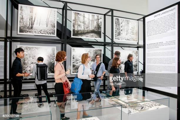 great german art exhibition photos et images de collection getty images. Black Bedroom Furniture Sets. Home Design Ideas