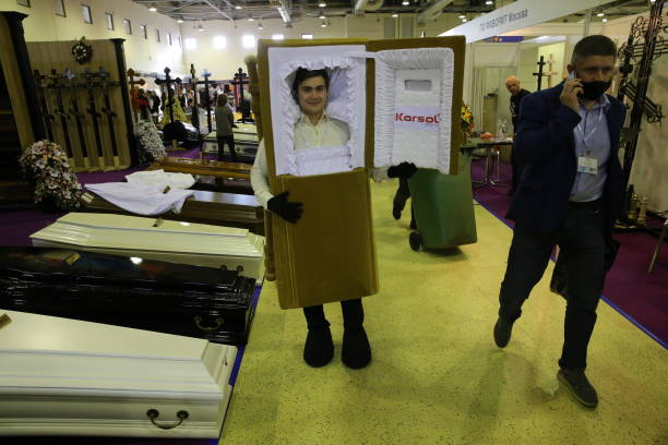 RUS: Inauguration Of The 29th Edition Of The International Funeral Fair Necropolis Tanexpo 2021