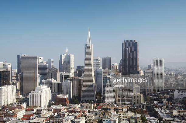 Exhilarating Downtown San Francisco Under the Morning Sun