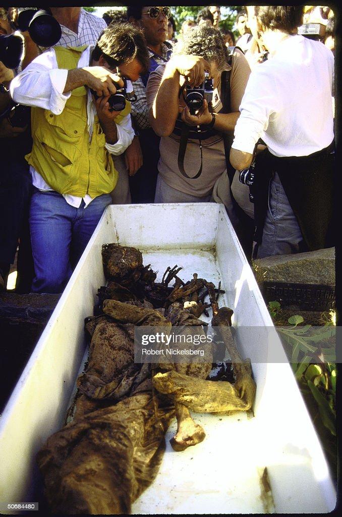 Josef Mengele [Death] : News Photo
