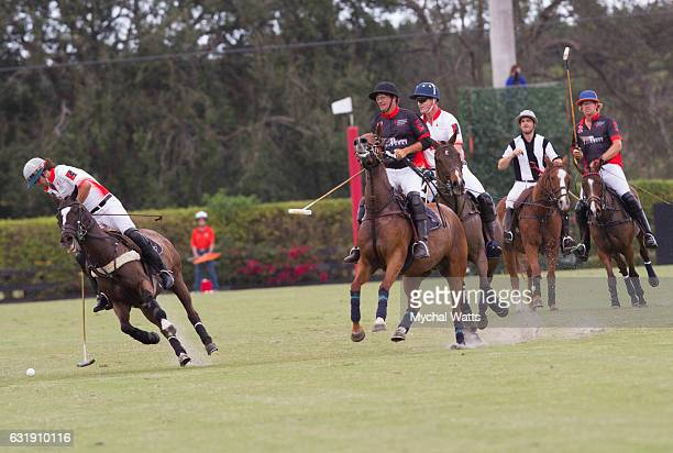 Exibition Game at International Polo Club Palm Beach on January 16 2017 in Wellington Florida