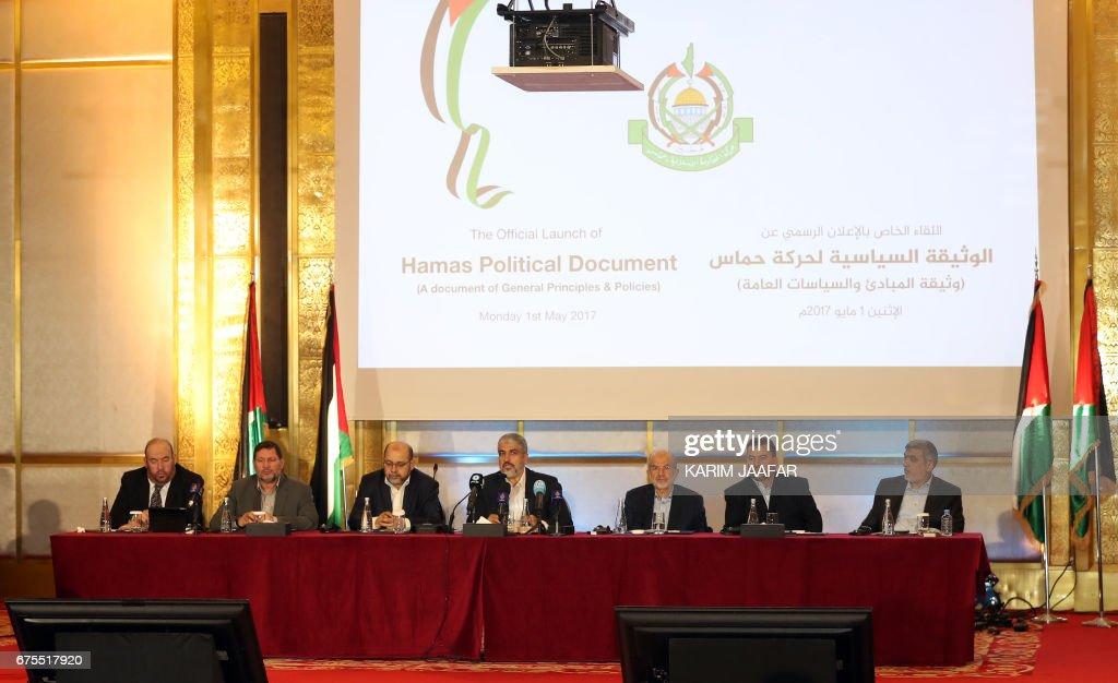 QATAR-PALESTINIAN-ISRAEL-CONFLICT-HAMAS-POLITICS : News Photo