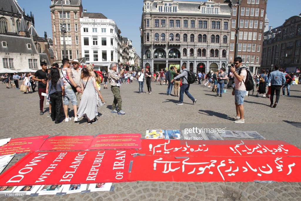 NLD: Protest Against Iran Regime In Amsterdam