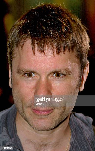 Ex-Iron Maiden lead singer Bruce Dickinson attends the Kerrang! Awards August 27, 2002 at the Park Lane Hilton Hotel in London, United Kingdom. The...