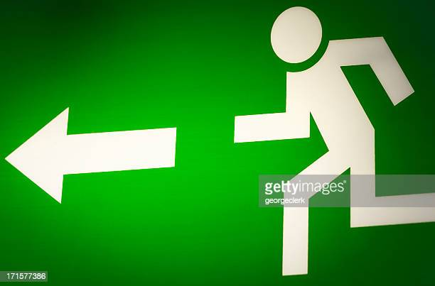 exit route - evacuation stock pictures, royalty-free photos & images