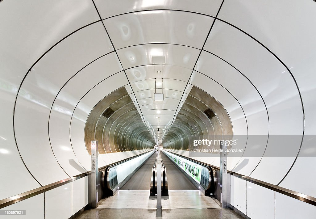 Exit the Tunnel : Stock-Foto