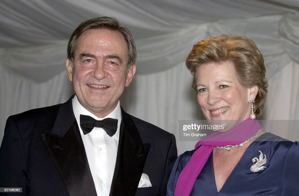 King Constantine Of Greece And Wife Queen Annemarie : News Photo