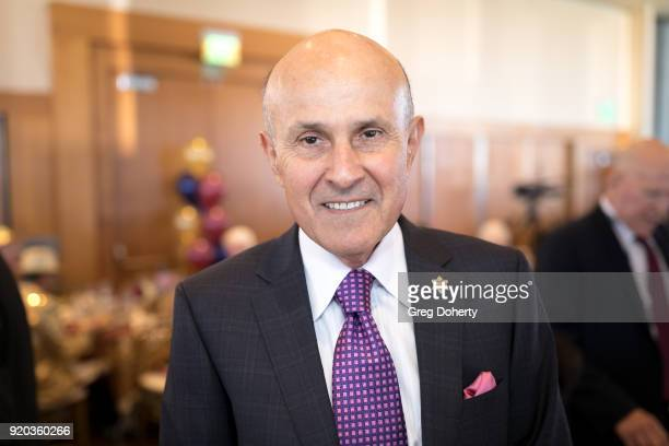 Ex-L.A. Sheriff Lee Baca attends The Thalians: Hollywood for Mental Health Presidents Club Party at Dorothy Chandler Pavilion on February 18, 2018 in...
