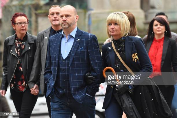 ExManchester City youth football player and victim of abuse by former football coach Barry Bennell Chris Unsworth arrives at Liverpool Crown Court on...