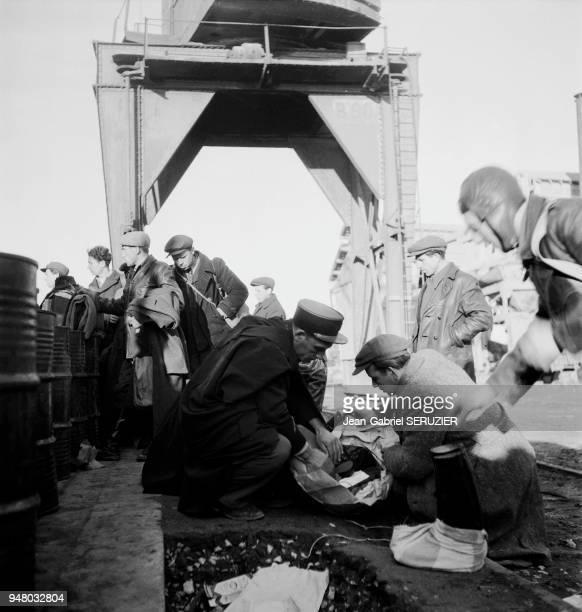 L'exode de juifs vers la Palestine sur le remorqueur 'le Benech' durant l'hiver 19461947 Ils seront détournés sur Chypre