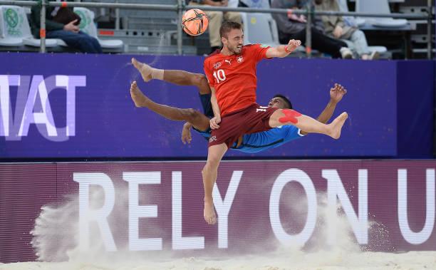 RUS: Uruguay v Portugal - FIFA Beach Soccer World Cup 2021