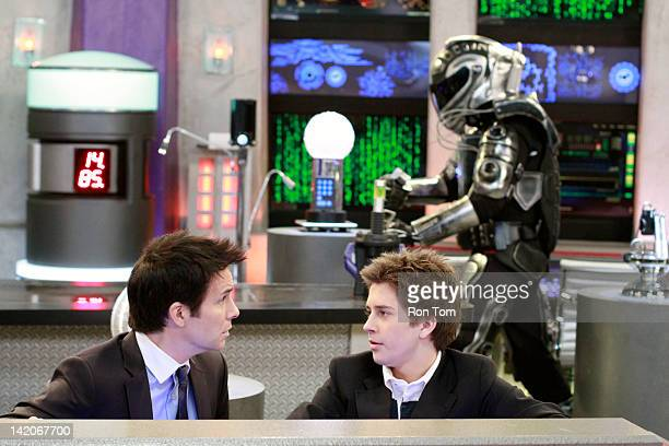LAB RATS Exoskeleton vs Grandma When Davenport's prized invention a super strength and laser empowered exoskeleton suit malfunctions Leo takes it...