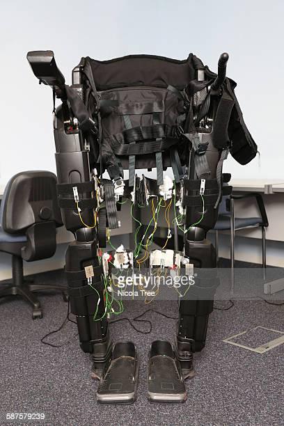 Exoskeleton working model