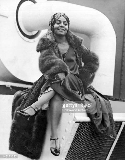 Exotic dancer Princess Nyota Nyoka arrives in New York after being discovered in Paris by Florence Ziegfeld New York New York September 9 1922 She...