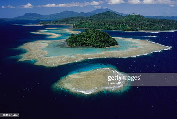 exotic islands - papua new guinea stock pictures, royalty-free photos & images