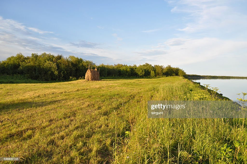Expanses of river. : Stock Photo