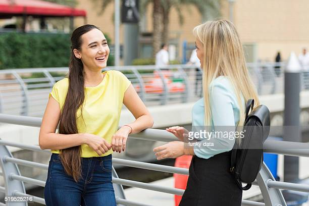 Expat women in Dubai Marina