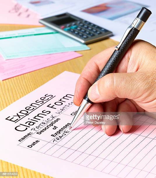 expenses claims from. - expense stock pictures, royalty-free photos & images