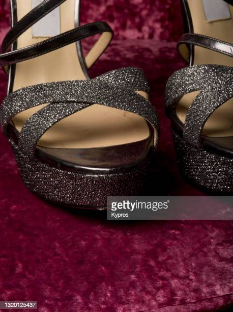 expensive high heeled shoes - womenswear stock pictures, royalty-free photos & images