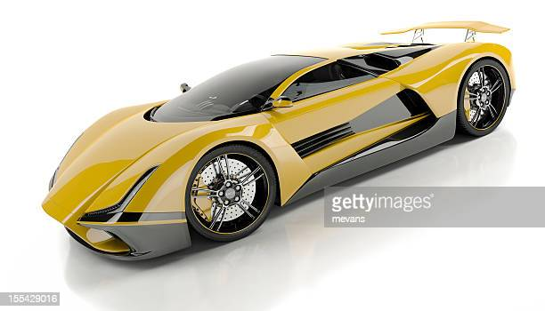 expensive sports car - futuristic car stock pictures, royalty-free photos & images
