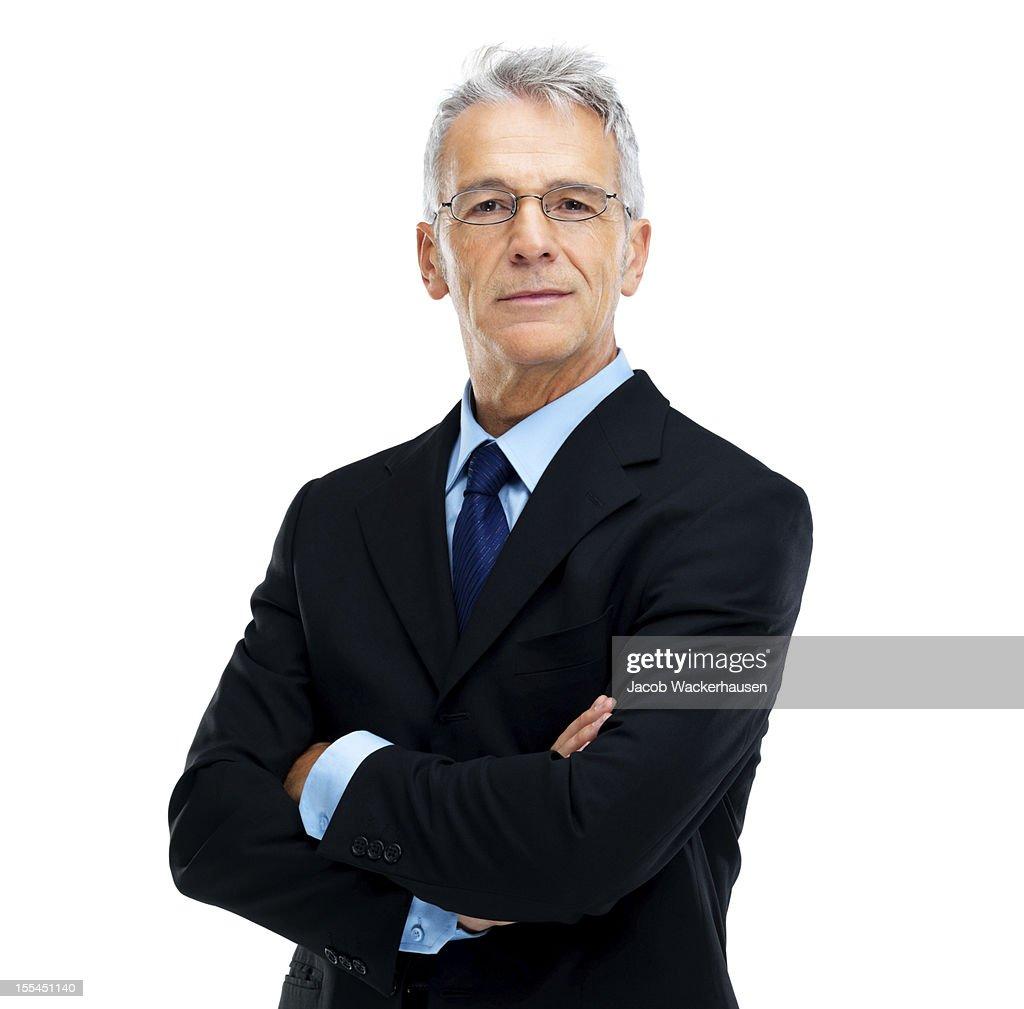 Experienced executive : Stock Photo