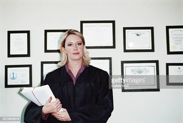 Experienced Female Judge