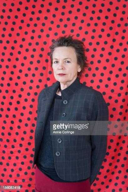 Experimental performance artist composer and musician Laurie Anderson is photographed for the Guardian on January 22 2013 in New York City