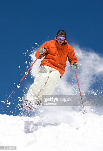 Expert Skier In Colorado