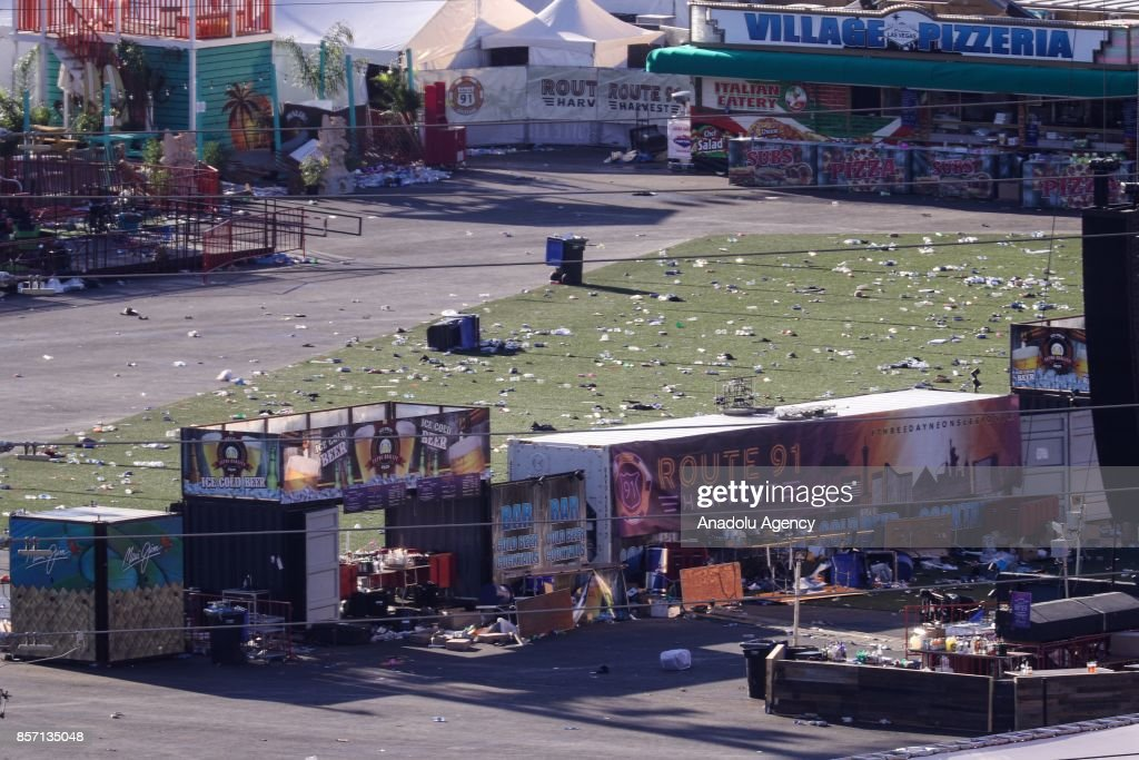 Las Vegas mass shooting : News Photo