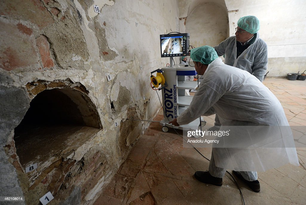 Spain continues to search for author Miguel de Cervantes' remains : News Photo