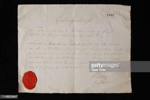 Explanation of drawing society This leads to Hooger that Nicolaus Montauban of Swijndregt jr in the 2nd class of signing is assigned the Accessit...