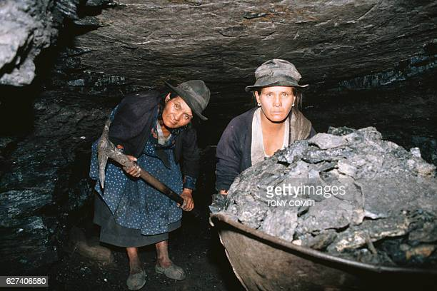Exploited by foremen or their own parents, the majority of Colombian children do not attend school. Near Bogota, children work in coal mines where...