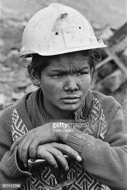 Exploited by foremen or their own parents the majority of Colombian children do not attend school Near Bogota children work in coal mines where they...