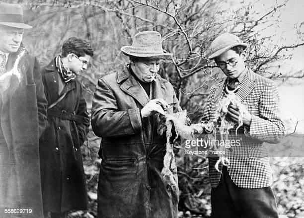 L'explorateur anglais Marmaduke Wetherells qui a ete affecte au lac du Loch Ness pour la recherche du monstre vient de trouver quelques bribes de la...