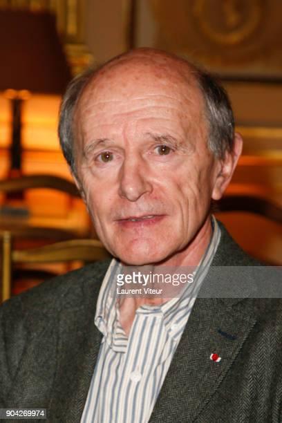 Explorator and Writer JeanLouis Etienne attends 'La Nuit de la Lecture' Launch Day at Ministere de la Culture on January 12 2018 in Paris France